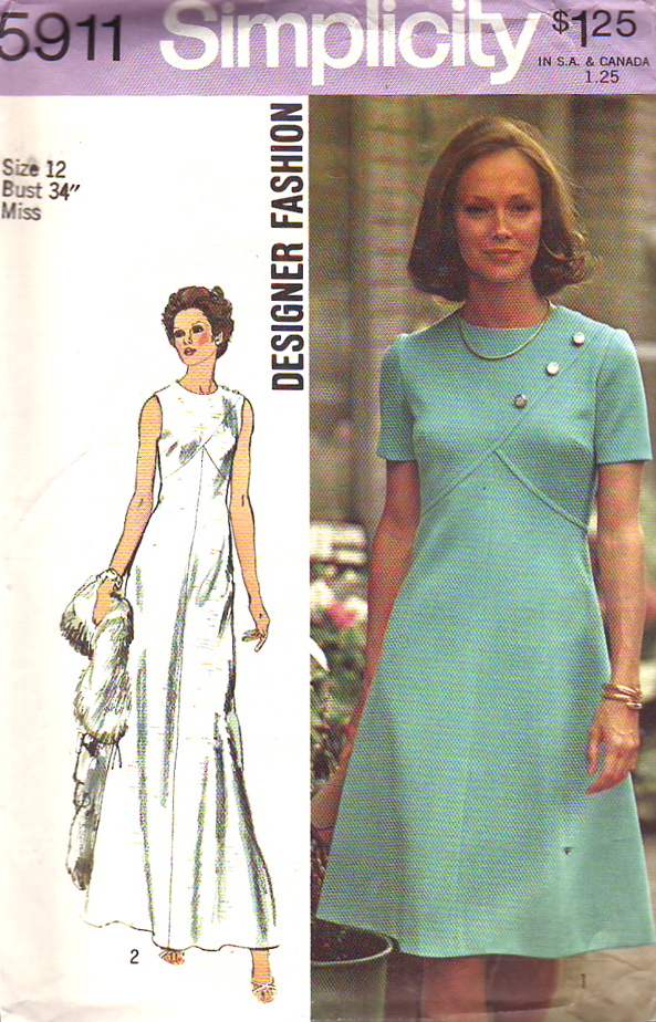 Simplicity 5911 | Vintage Sewing Patterns | FANDOM powered by Wikia