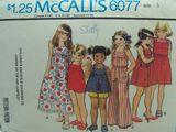 McCall's 6077 A