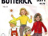 Butterick 3371 C