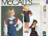 McCall's 8718 A