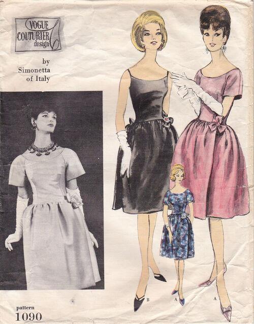 Pattern - Vogue 1090 02
