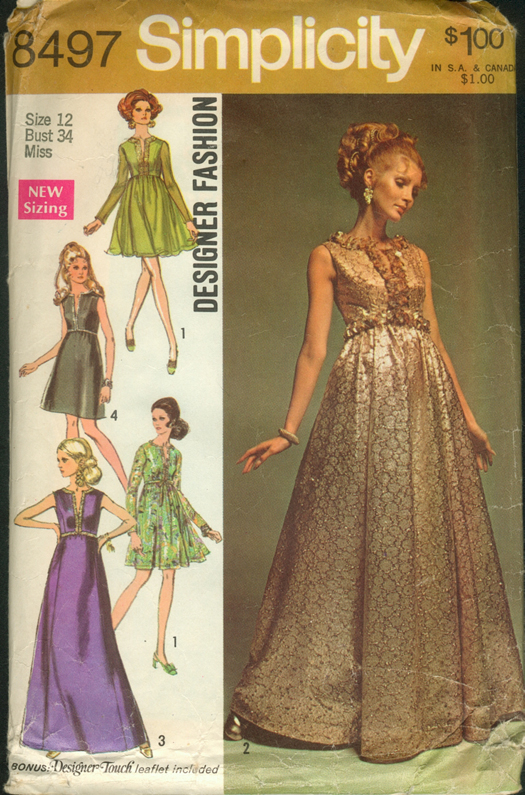 Simplicity 8497 Vintage Sewing Patterns Fandom Powered
