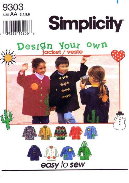 Simplicity 1994 9303