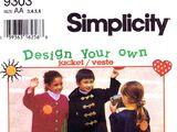 Simplicity 9303 B
