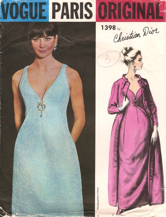 Vogue 1398 | Vintage Sewing Patterns | FANDOM powered by Wikia