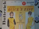 Butterick 3028 C