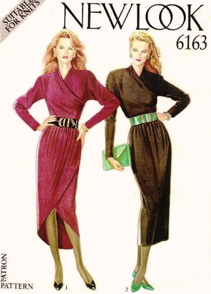 New Look 6163 | Vintage Sewing Patterns | FANDOM powered by Wikia