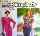 Simplicity 7100 B
