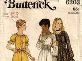Butterick 6203 A