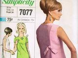Simplicity 7077 A