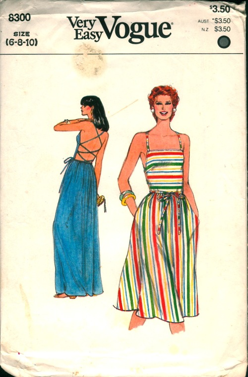 Vogue 8300 A Vintage Sewing Patterns Fandom Powered By Wikia