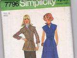 Simplicity 7796 A