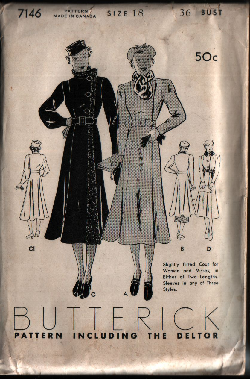 Category:Coats | Vintage Sewing Patterns | FANDOM powered by Wikia