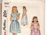 Simplicity 1949 A