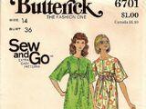 Butterick 6701 A