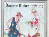 Deutsche Moden-Zeitung No. 15 Vol. 38 1928/29