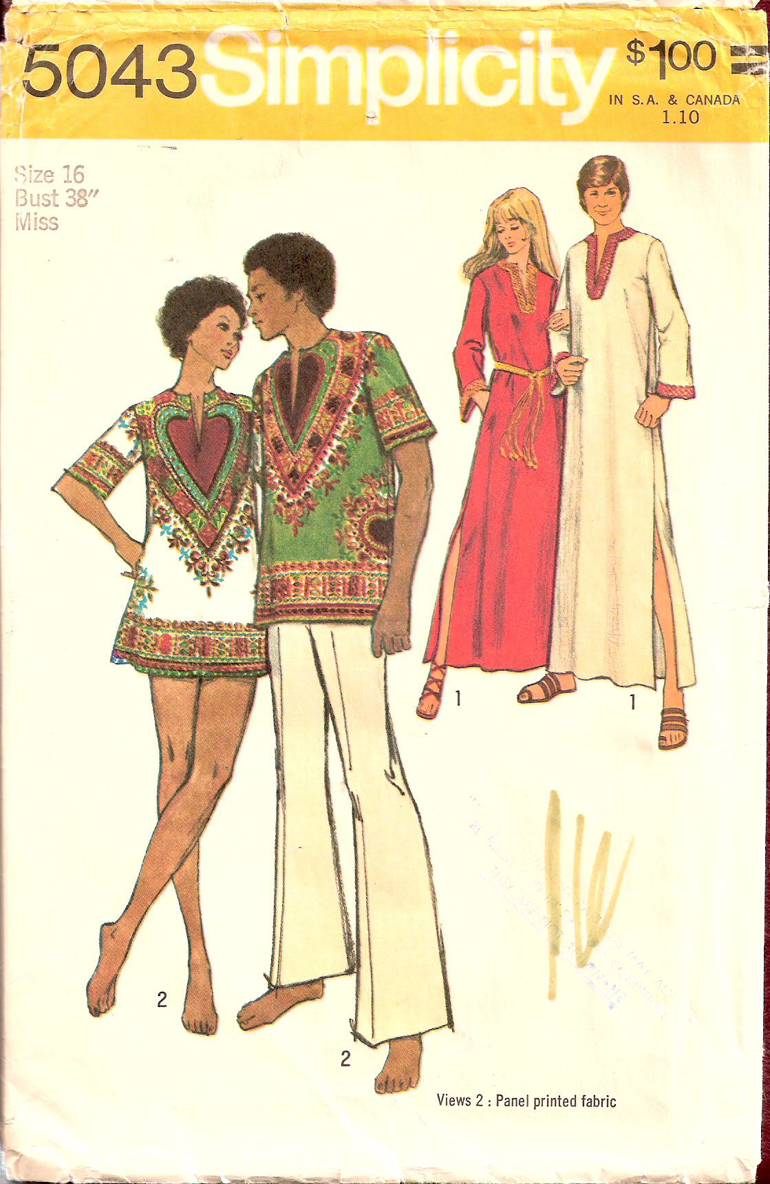 Simplicity 5043 | Vintage Sewing Patterns | FANDOM powered by Wikia