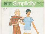 Simplicity 8071 B