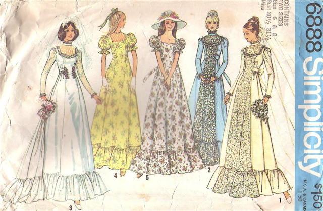 Butterick Retro Prom Dresses