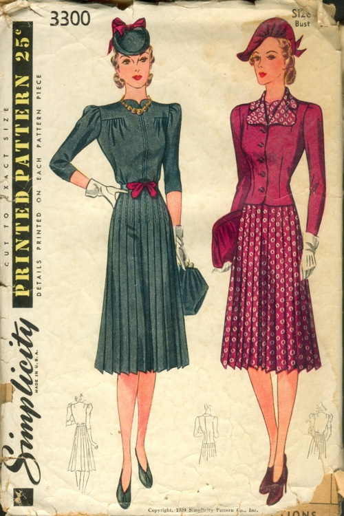 Simplicity 3300 | Vintage Sewing Patterns | FANDOM powered by Wikia