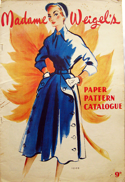 Madame Weigels Paper Pattern Catalogue Ca 1950 Vintage Sewing