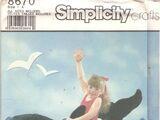 Simplicity 8670 B