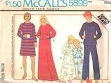 McCall's 5899 A