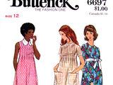 Butterick 6697 A