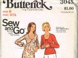 Butterick 3045 A