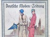 Deutsche Moden-Zeitung No. 11 Vol. 38 1928/29