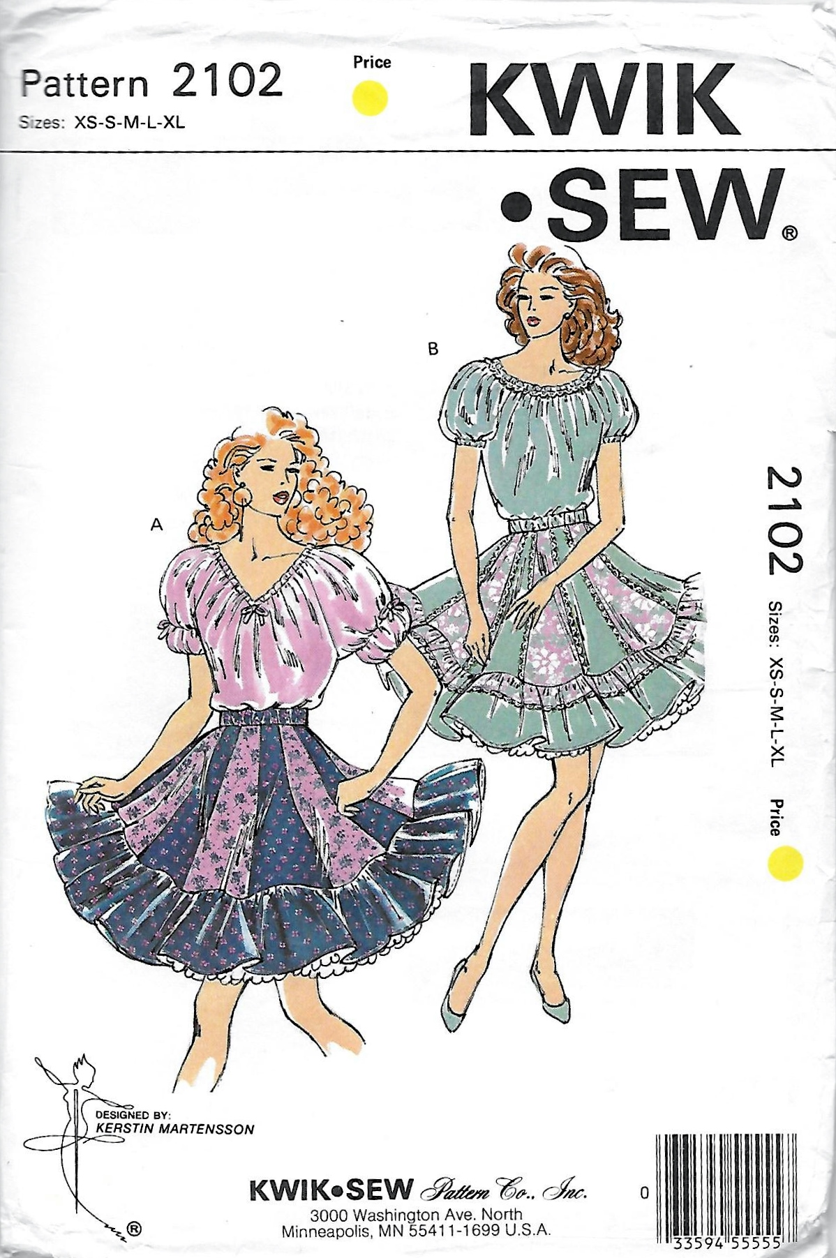 Kwik Sew 2102 | Vintage Sewing Patterns | FANDOM powered by Wikia