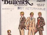 Butterick 3208 A