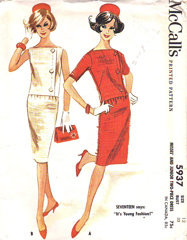 McCall\'s 5937 | Vintage Sewing Patterns | FANDOM powered by Wikia