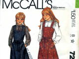 McCall's 7250 A