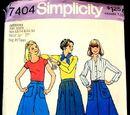 Simplicity 7404 A
