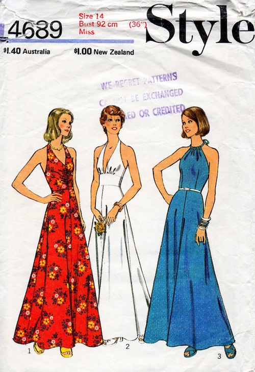 Style 4689 A Vintage Sewing Patterns Fandom Powered By Wikia