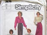 Simplicity 7676 A