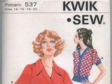 Kwik Sew 537
