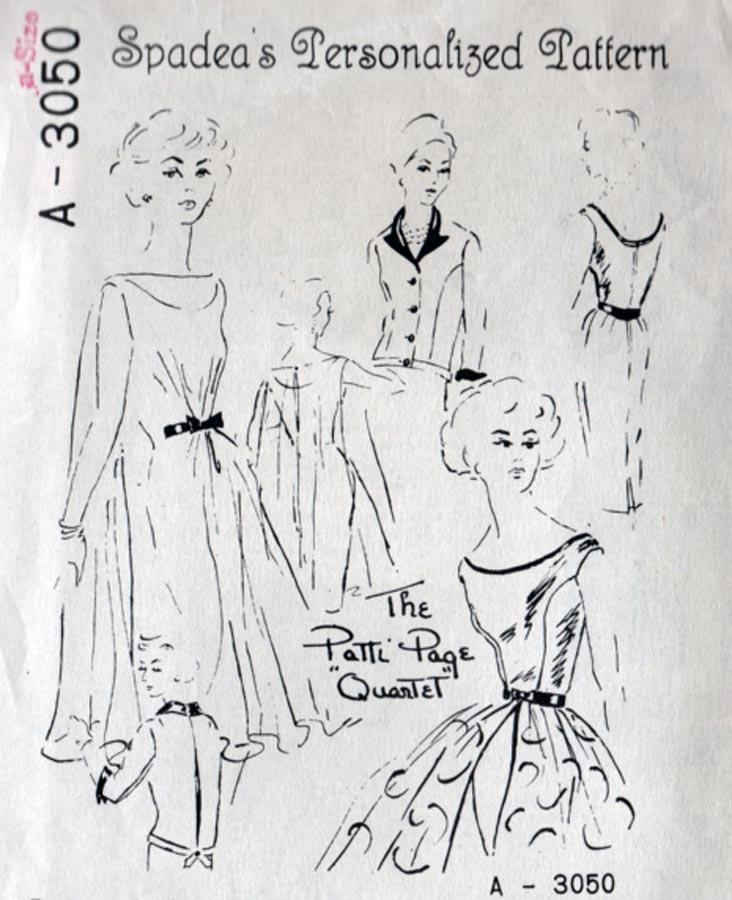 Spadea A-3050 | Vintage Sewing Patterns | FANDOM powered by Wikia