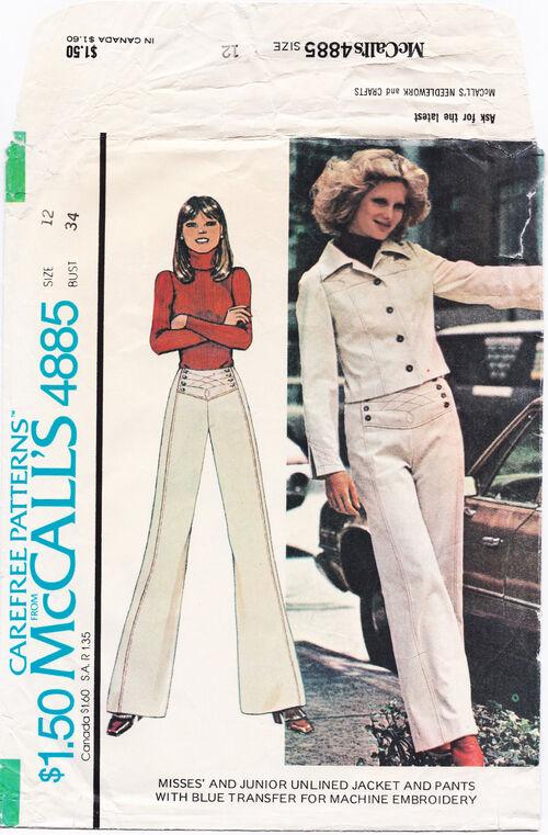 1975 Sailor Pants