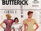 Butterick 3851 B