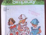 Simplicity 6366 A