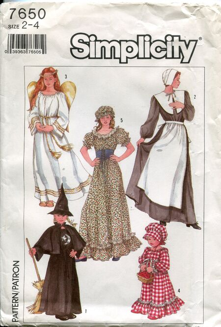 Simplicity7650costumes