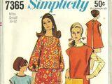 Simplicity 7365 A