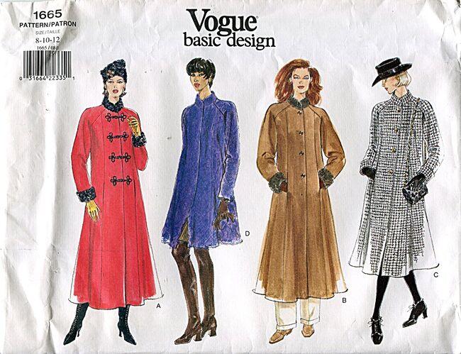 Vogue1665coat