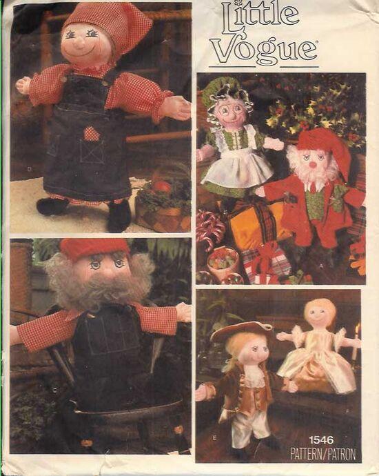 W-1546V 1970s Dolls