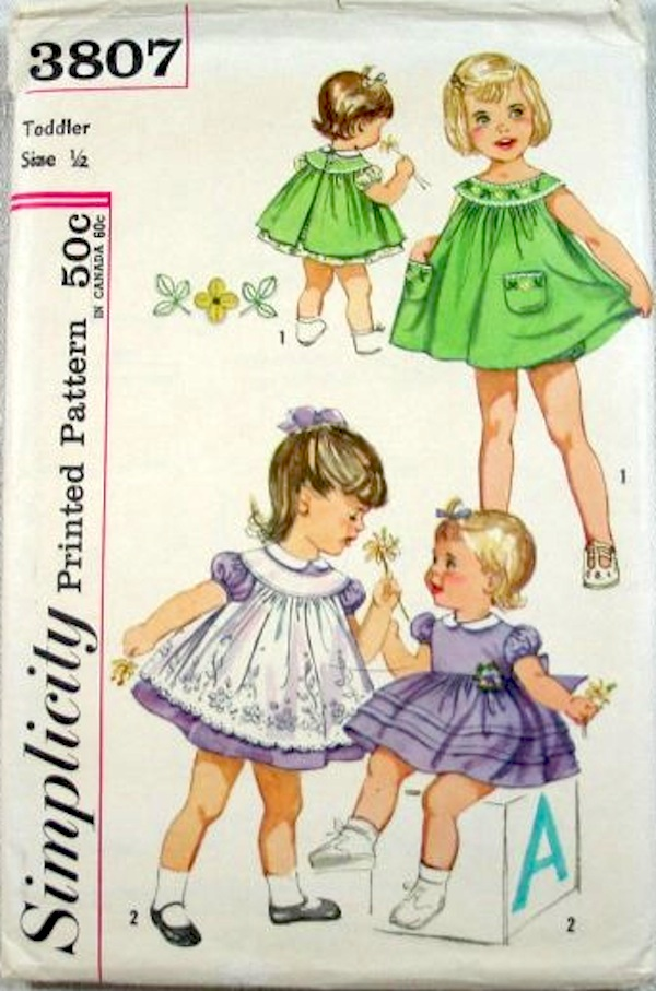 Simplicity 3807 A | Vintage Sewing Patterns | FANDOM powered by Wikia