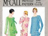 McCall 4947 A