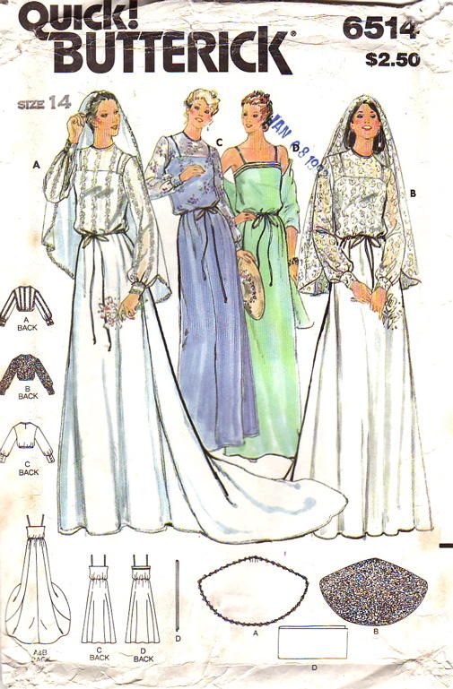 Butterick 6514 | Vintage Sewing Patterns | FANDOM powered by Wikia