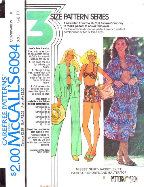 McCalls 1978 6094